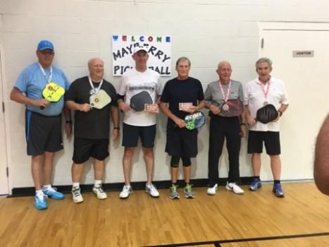 65+ 3.5 Mens Doubles 2017 Tournament
