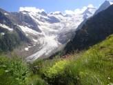Alibek, Alibeksky glacier Dombay Russia Great Caucasus mountains Sochi Olympics 2014