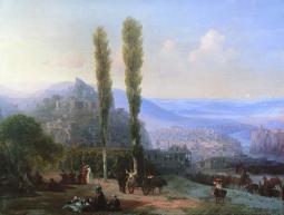 Ivan Aivazovsky Caucasus Dagestan