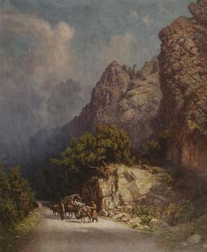 Zankovsky North Caucasus paintings