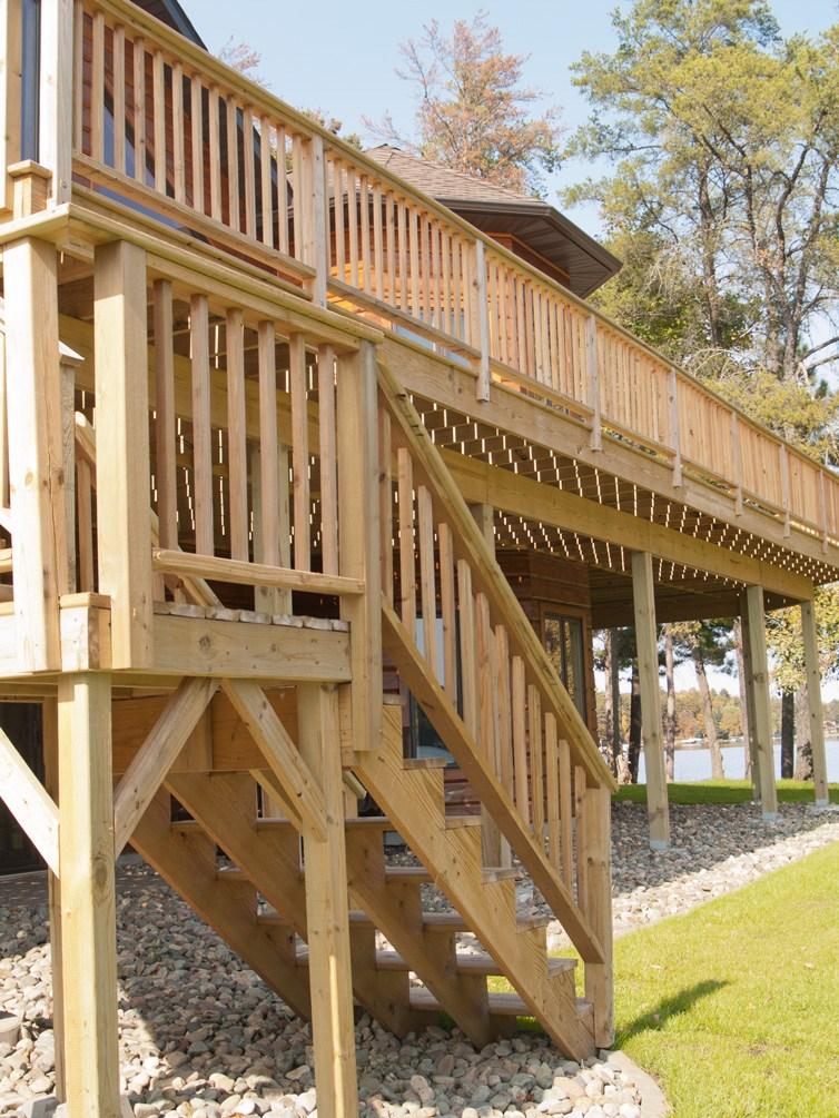 Xguard Pressure Treated Wood Cedar Creek Lumber | Pressure Treated Stair Railing