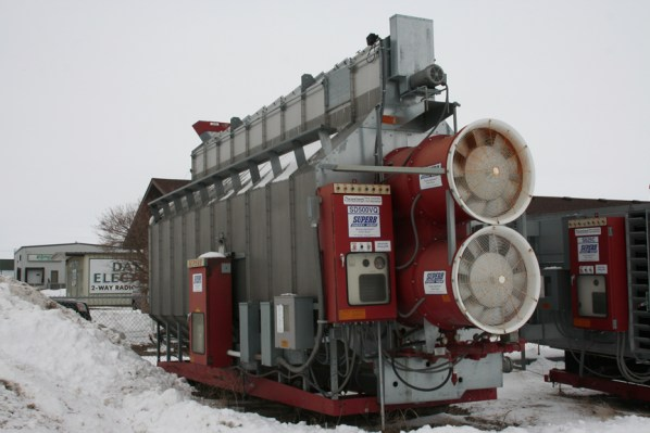 Used Grain Dryer Aberdeen SD North Central Steel