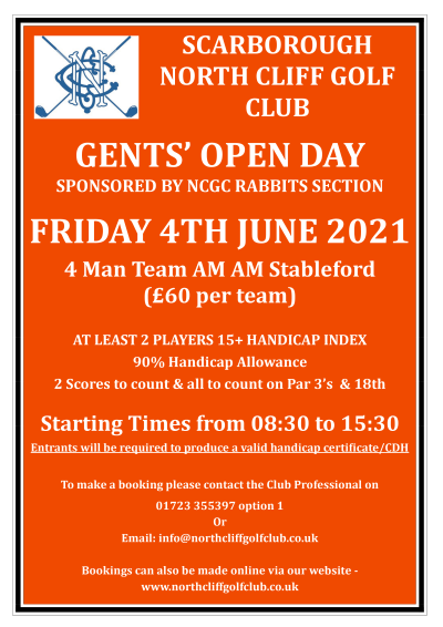 Rabbits Open Day