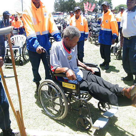 Northcliff Rotary Wheel-Chair-Project