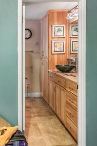 Hickory bathroom cabinets, Sacramento, CA | North Coast ...