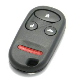 1999 2001 acura tl 4 button trunk release key fob  [ 1000 x 1125 Pixel ]