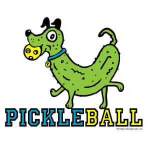 pickleball mascot