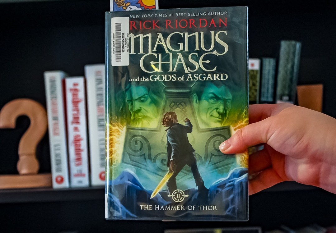 magnus chase and the gods of asgard the hammer of thor