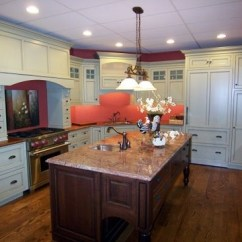 Cherry Kitchen Island Cabinets Refinishing Archives North Country