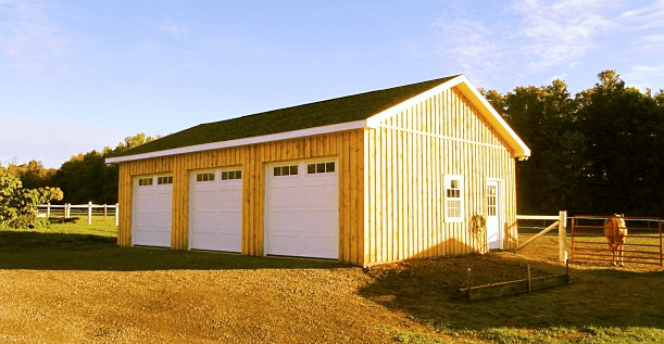 Custom Garages  North Country Sheds
