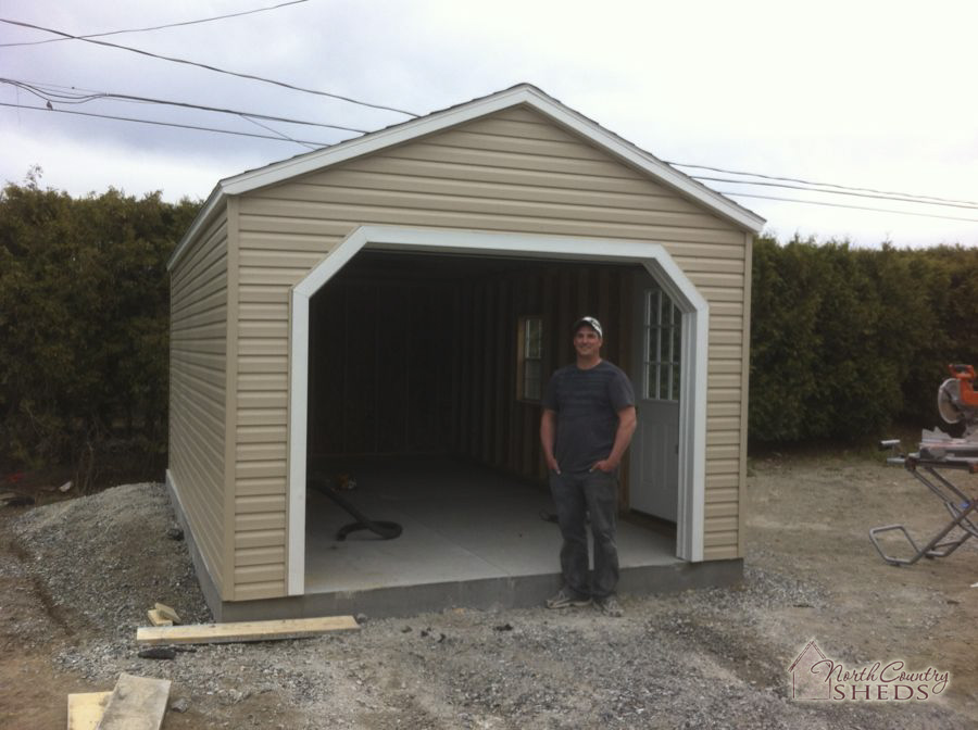 Portable Garage Photos  North Country Sheds