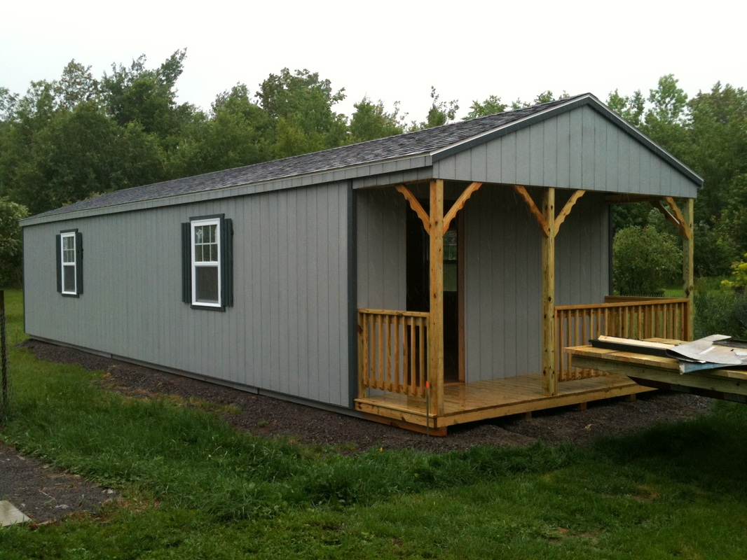 Ontario Prefab Cabins Delivered  North Country Sheds