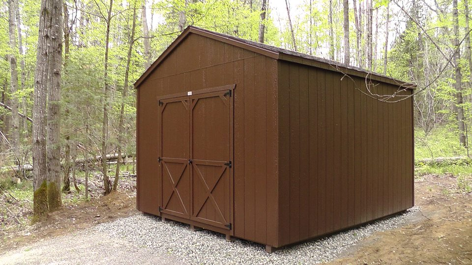 Cottage Prefab Garden Sheds  North Country Sheds