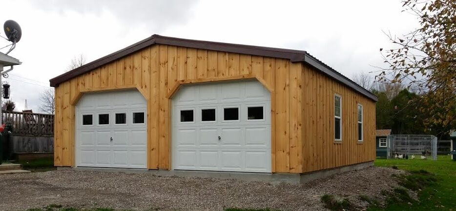 Ontario S Prefab Custom Garages North Country Sheds