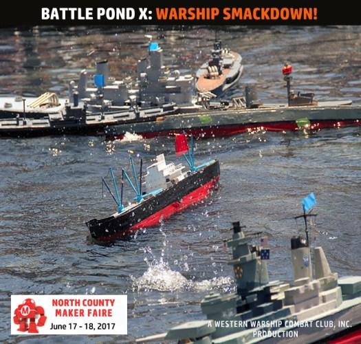 Axis vs Allies RC Naval Combat