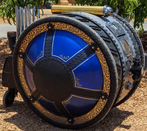 AR-Duo, The Steam Punk Rover