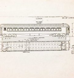 the original layout and design of the wooden rail car  [ 3228 x 2316 Pixel ]