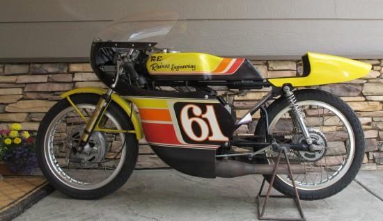1975 Yamaha TA125 L Side
