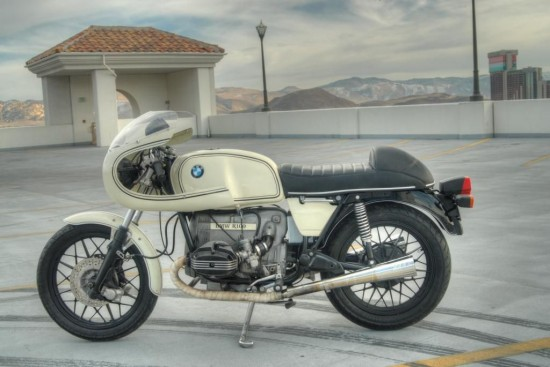 1980 BMW R100 Cafe L Side
