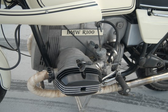 1980 BMW R100 Cafe L Side Engine