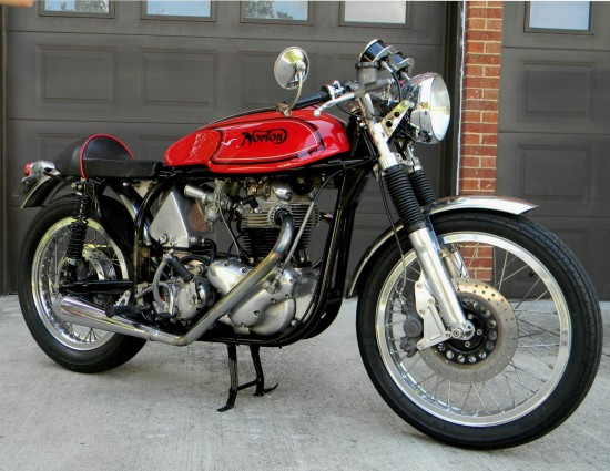1966 Norton Atlas Cafe R Side Front