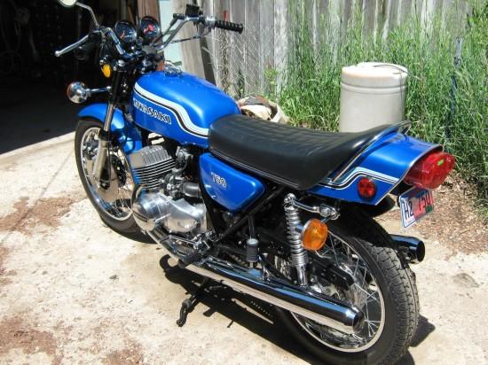 1972 Kawasaki H2 750 L Rear2