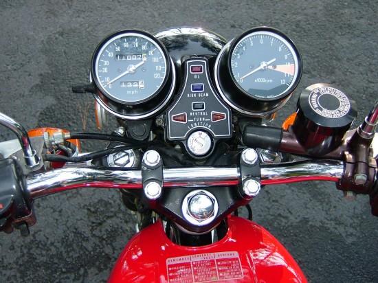 1976 Honda CB400F Dash