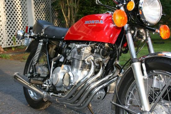 1976 Honda CB400F R Front