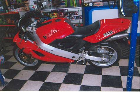 Bimota SB6R - Left Side
