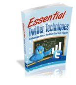 Essential Twitter Techniques