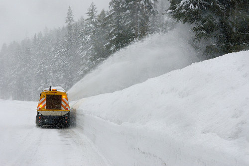 snow plow photo