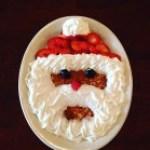 Midwestern Saloon served up festive Santa Pancakes.