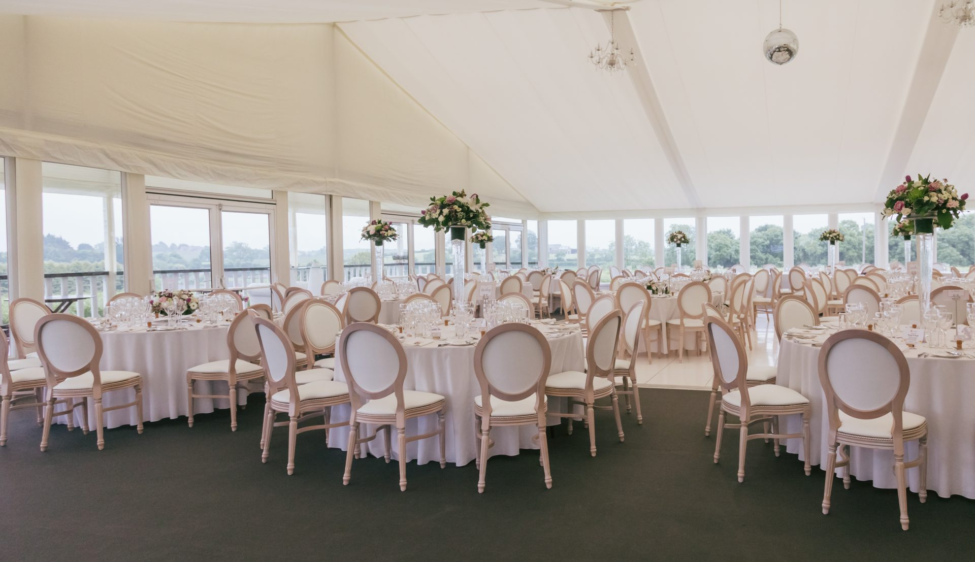 wedding chair covers hire northern ireland old wooden rocking marquee and marquees for private events