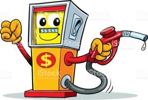Friendly gas pump