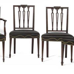Federal Dining Chairs Big Joe Bean Bag Chair Pink Set Of Twelve New York Carved Mahogany