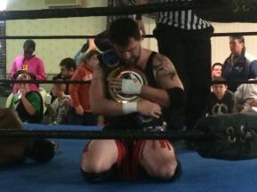 RIOT following his huge WrestleFest X victory.