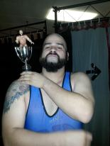 Immediately after winning the Ox Baker Memorial Cup