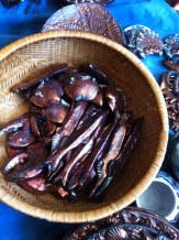 capelin, lobster claws and barnacle clams