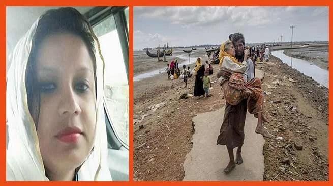 BJP suspends Benazir Arfan for a prayer meet for Rohingya refugees