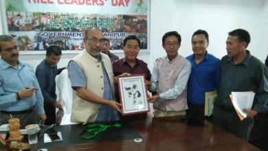 Photo of Manipur CMN Biren Singhlaunches official mascot of Tangkhul Naga Football Centenary (TNFC)
