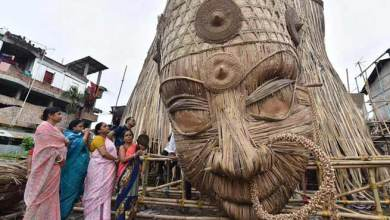 Photo of Assam: World's tallest Durga idol made in Guwahati