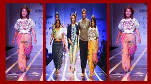 India Fashion Week 2017: Anshu Jamsenpa walked the ramp