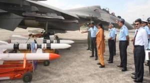 Nirmala Sitharaman visits Eastern airbase, reviews operational readiness