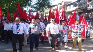 SUMAA Protest March: demands TRP 2014 rollback
