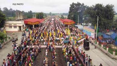Photo of Bandh, Rail Roko and Dharna effecting train services- NFR