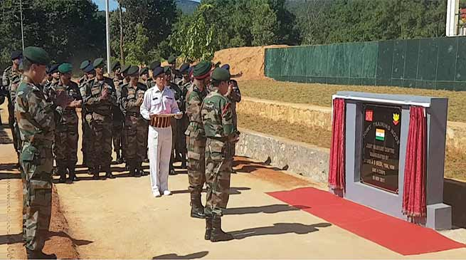 Exercise Sampriti 2017 begins at Joint Training Node at Umroi