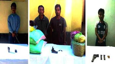 Five NDFB(S) cadres Apprehended