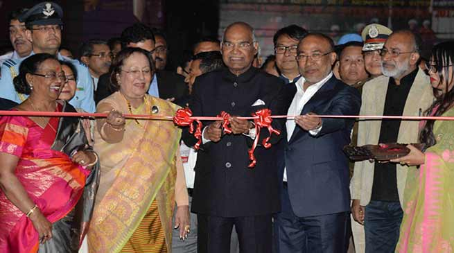 President Ram Nath Kovind inaugurates Sangai Festival