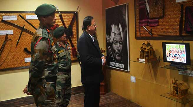 Defence Minister of State Dr Subhash Bhamre visits Army's Dao Division HQ