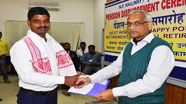 Assam: NF Railway staff awarded for exceptional devotion towards duty